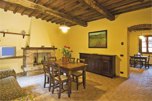 Wohnzimmer der Ferienwohnung GUIDO