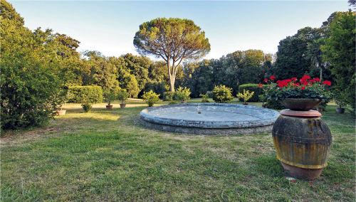 Garten der Villa 1