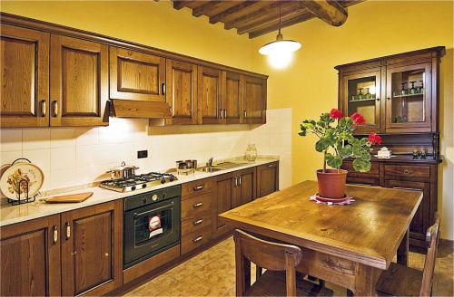 Wohnküche der Ferienwohnung ROSINA
