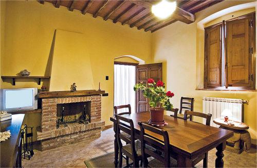 Wohnzimmer der Ferienwohnung ROSINA