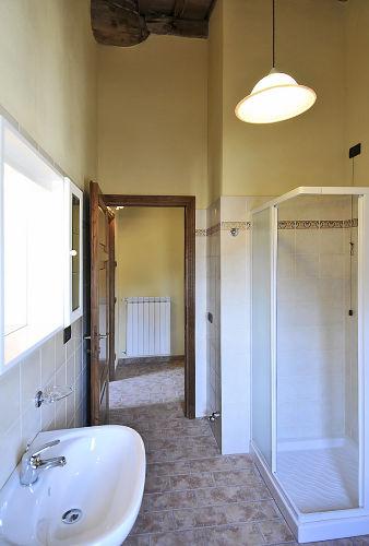 Badezimmer der Ferienwohnung ROSINA