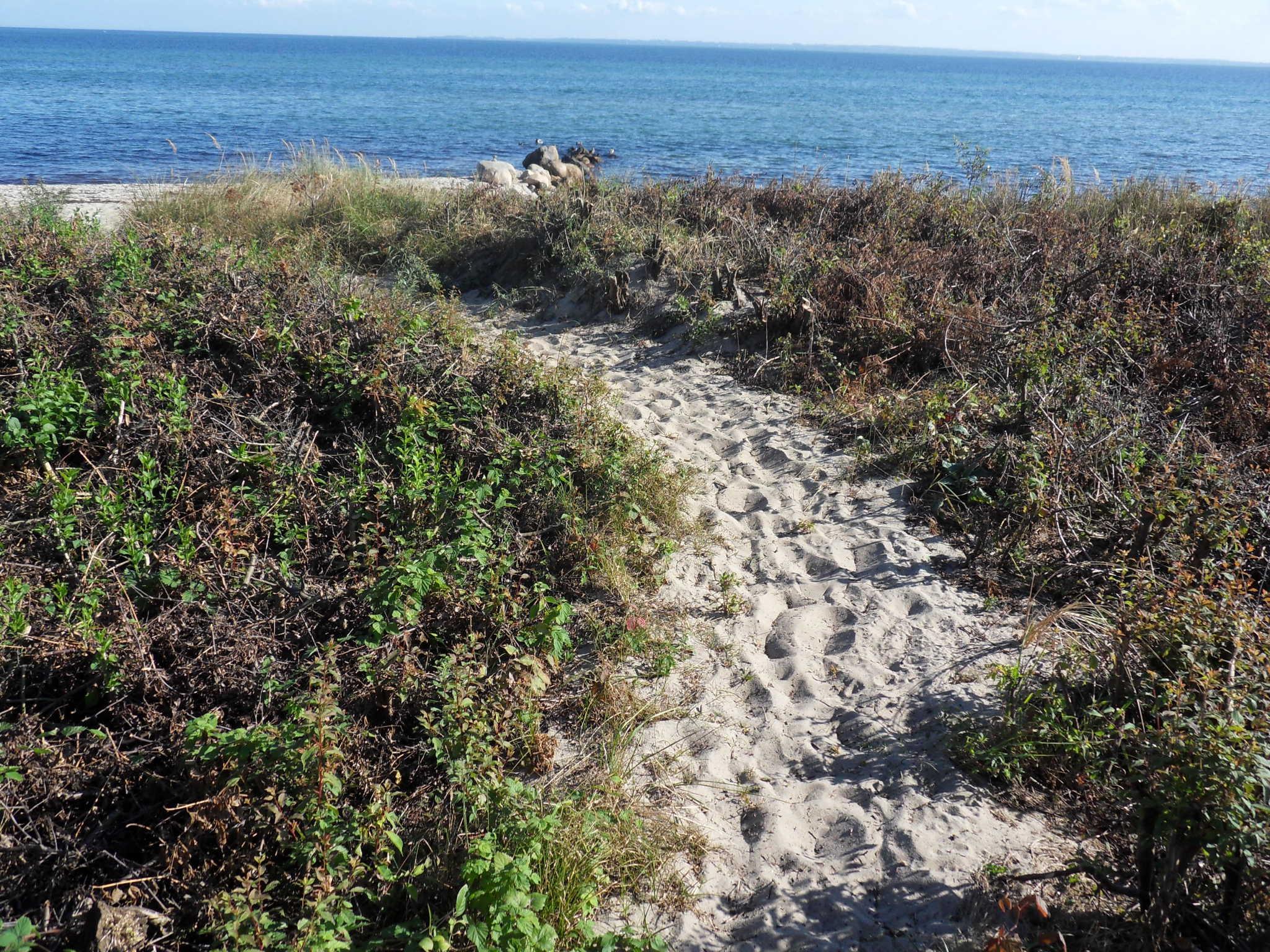 eigener Zugang vom Strand