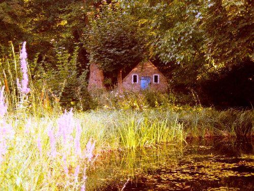 Kleines Backhaus, Blick von Veranda