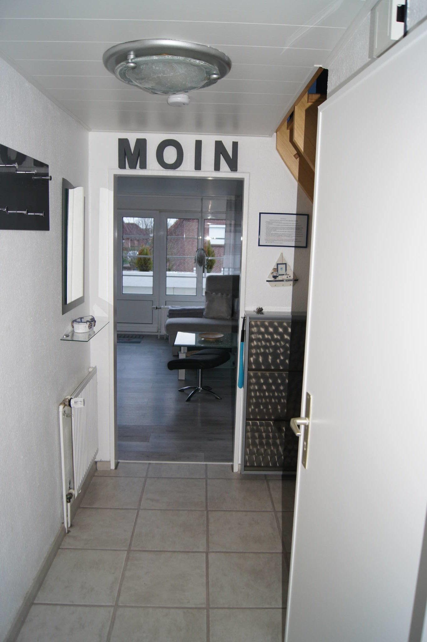 Eingangsbereich mit Gardrobe