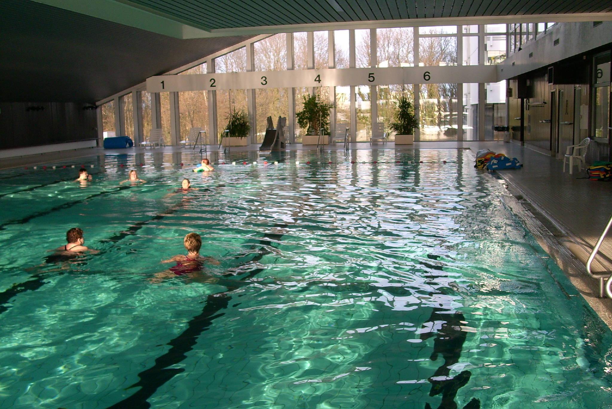 Schwimmbad 28 Grad