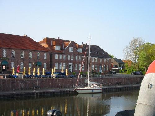Spaziergang zum alten Hafen von Hooksiel