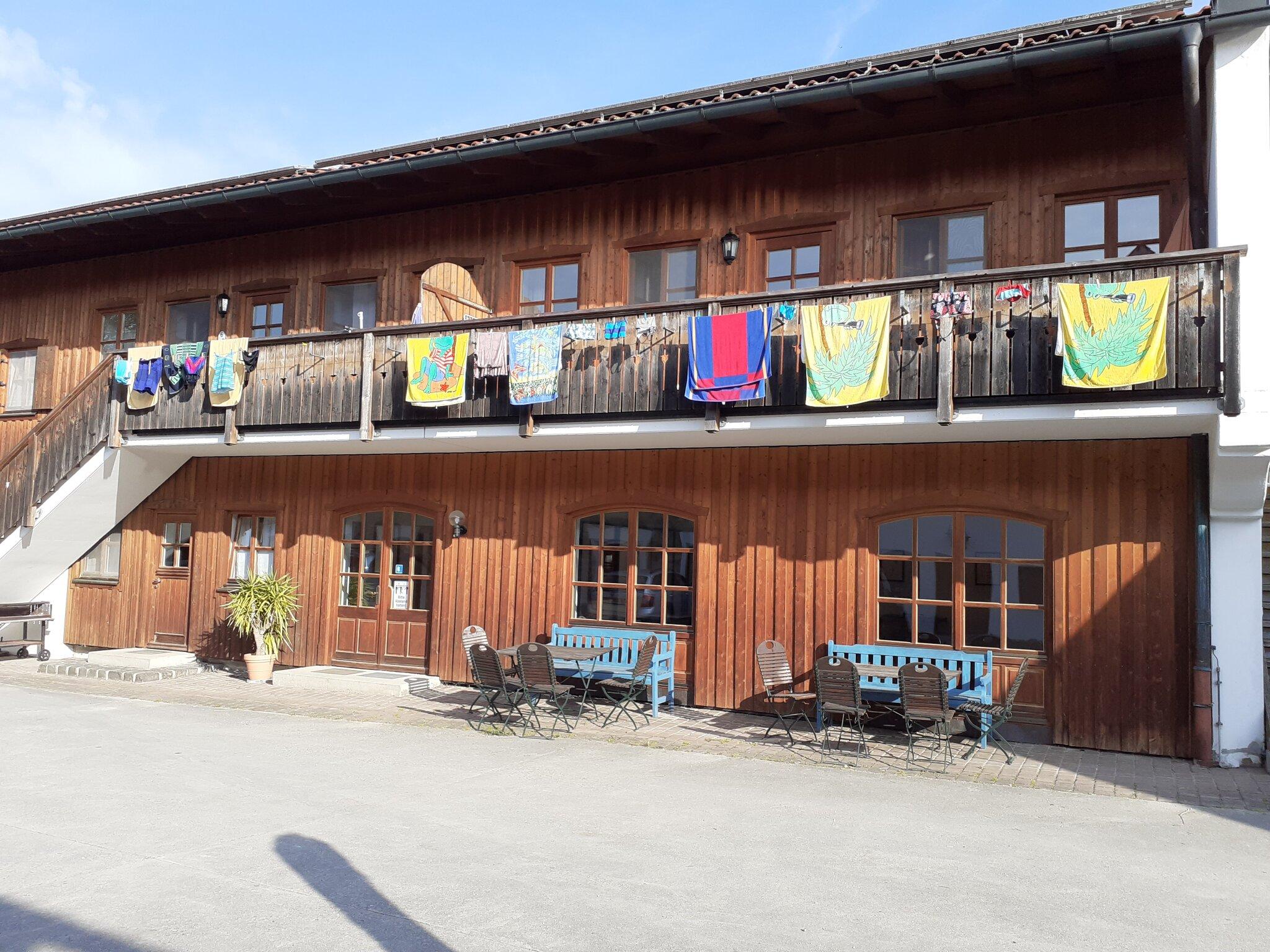 Sitzecke im vorderen Schlafzimmer