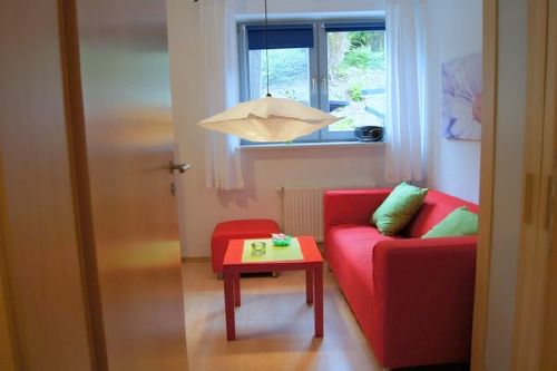 Sitzecke im kleinen Zimmer