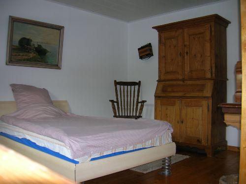 1,40 breites Doppelbett in FeWo 2