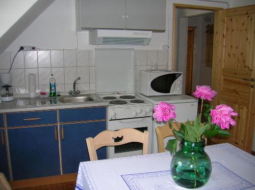 Küche in FeWo 2