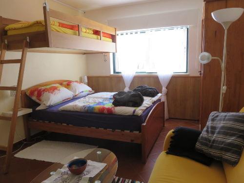 Der Schlaf-und Wohnbereich