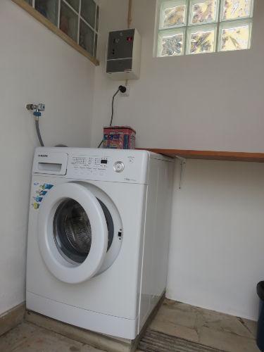 Perfekte Möglichkeit zum Wäschewaschen