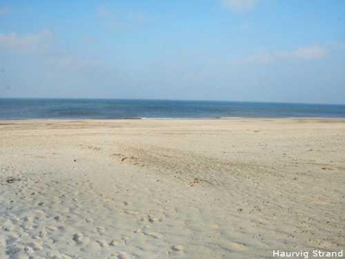 Haurvig Strand in der Nähe von Finns Hus