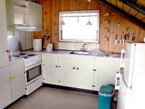 Offene Küche im Finns Hus