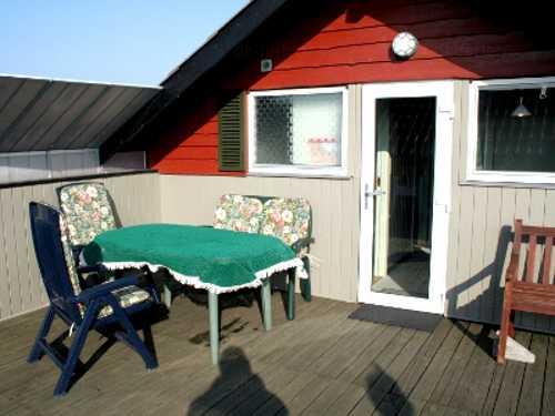 Terrasse vom Finns Hus