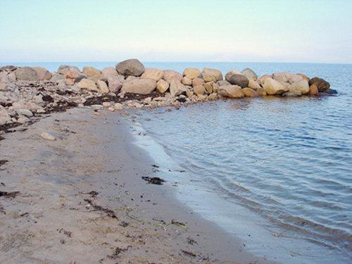 Strand in der Nähe von Mortens Hus