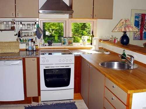 Offene Küche im Mortens Hus