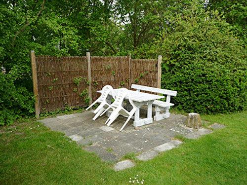 Sitzgruppe im Garten vom Mortens Hus