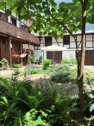 Ruheoase Innenhof
