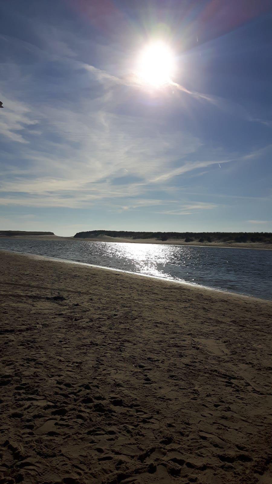 Der verbreiterte Strand