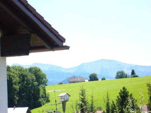 Blik von Terrasse