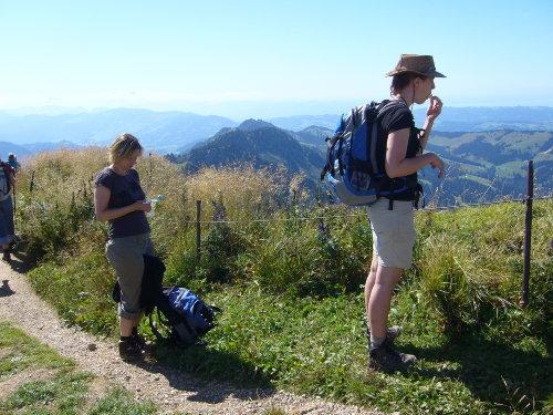 """bergsteigen zum """"Hochgrat """""""