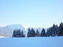 Winter - Aussicht