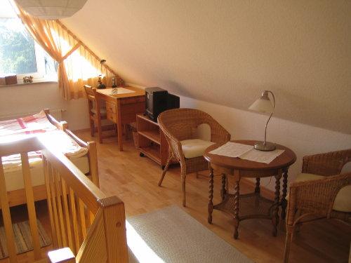 Studio, Schreibtisch, tel. u. internet