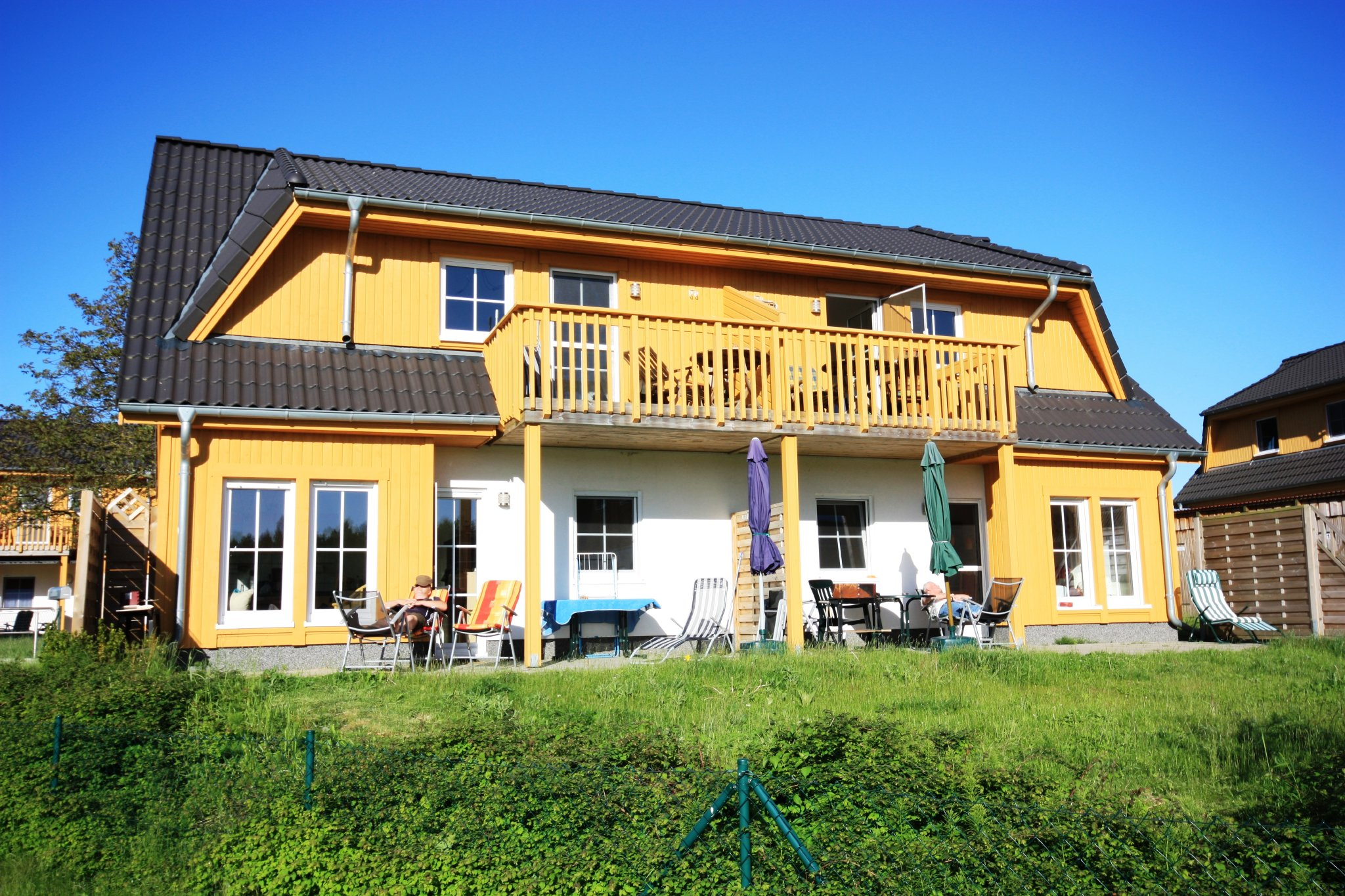 Haus Windjammer 1 Gartenseite