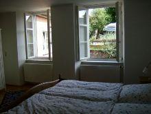 Schlafzimmer zum Garten