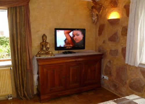 Flachfernseher und DVD und DSL