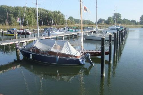 neue Marina im Naturhafen Gustow