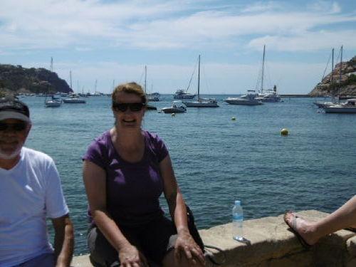 Frau Meyer im Urlaub