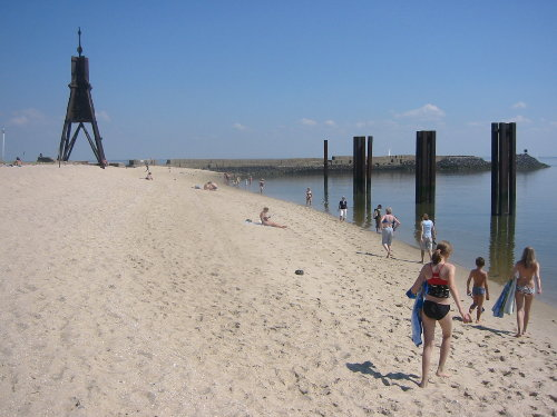 Strandleben in Cuxhaven