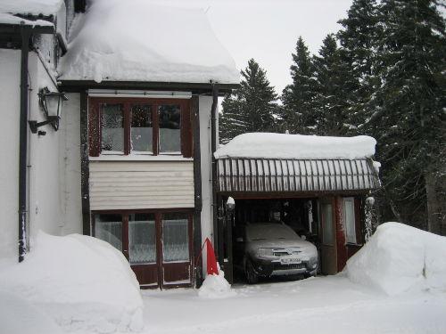danke unserm Nachbarn fürs Schneeräumen