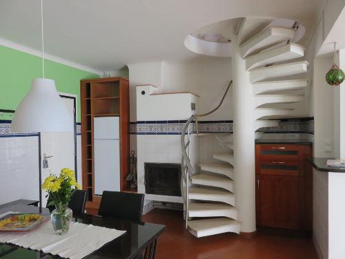 Die Einbauküche des Appartements