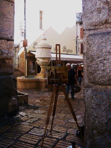 Vence, Place Peyra, Eingang zur Altstadt