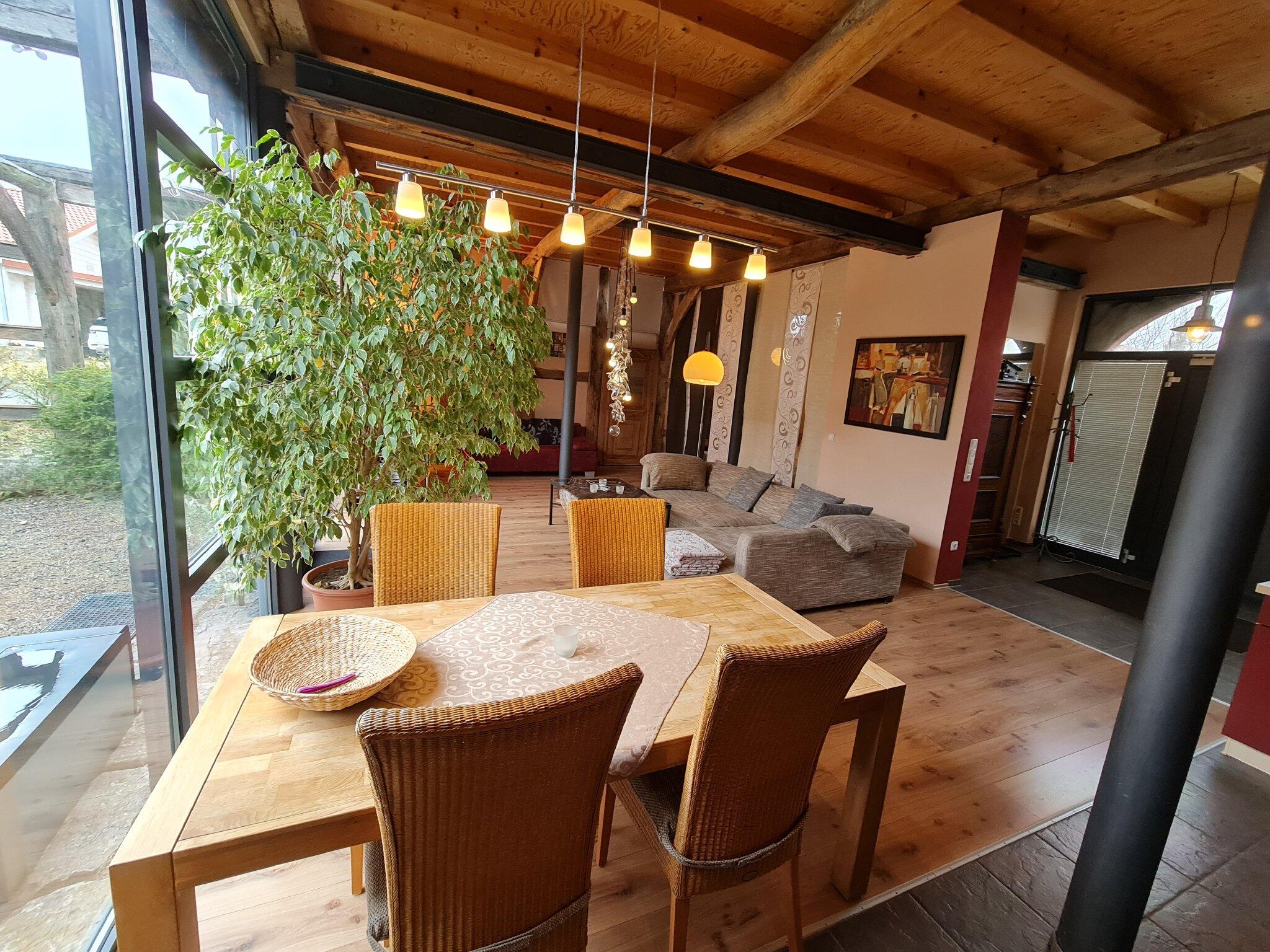 Wohn und Essraum im Erdgeschoss