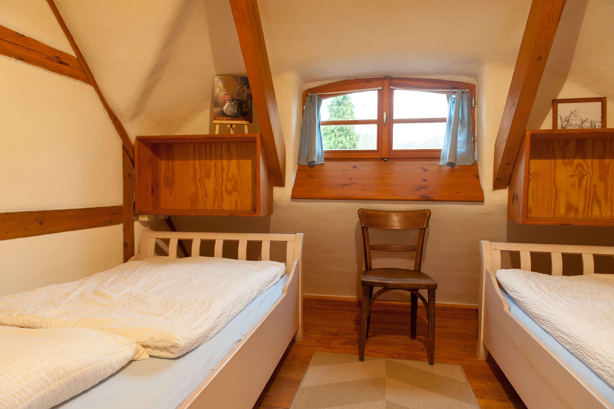 Wohnraum OG mit Küche und Terrassentür
