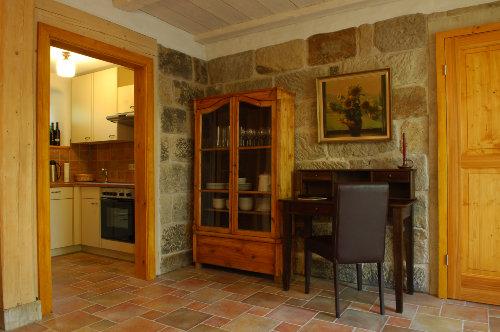 Wohnraum OG mit Küche und Terassentür