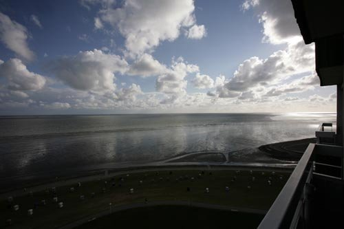 Nationalpark Wattenmeer-Blick nach West