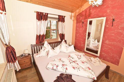 Schlafzimmer mit Romantik