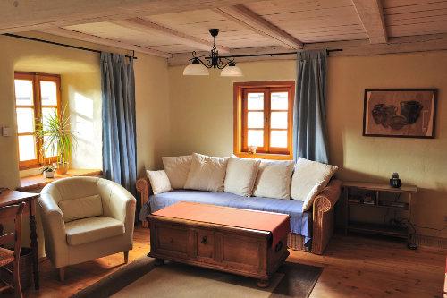 Gästezimmer OG mit Sofa für 2 Aufbettung