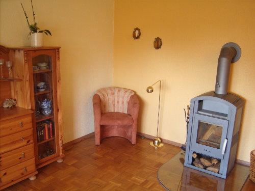 Wohnzimmer -mit Kaminofen-