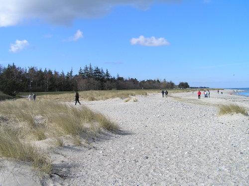 Naturstrand im Norden der Insel