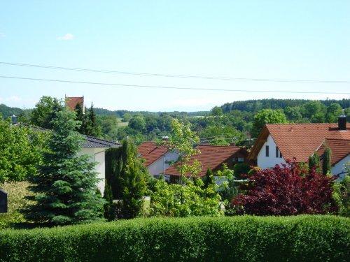 Blick v. Sitzecke Balkon bis Alpengipfel