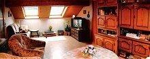 Goßes gemütliches Wohnzimmer