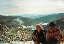 Wanderwege um Plittersdorf im Winter