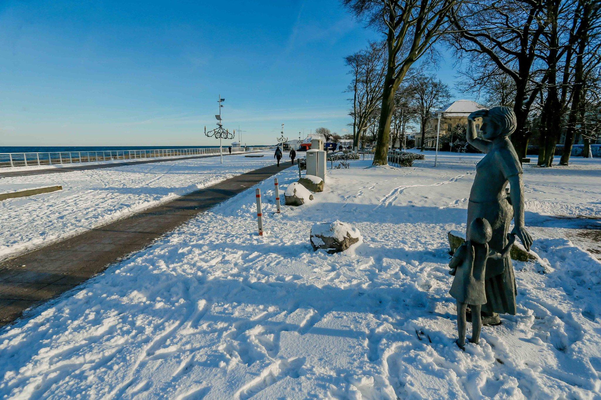 Vor der Seebrücke in Kühlungsborn