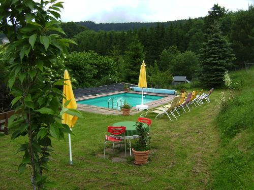 Blick auf unser Swimming Pool